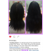 Natural Black #1B Halo Hair Extension