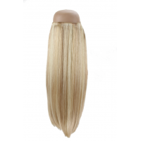 Light Blonde with Warm Caramel Blonde with lowlights  #P613/18 Halo Hair Extension