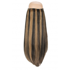 Natural Black with Brown Lowlights #P1b/8 Halo Hair Extension