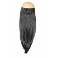 Jet Black #1 Halo Hair Extension